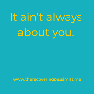 The Recovering Pessimist: Wisdom Wednesday #86 -- Check yourself. | www.therecoveringpessimist.me #amwriting #recoveringpessimist