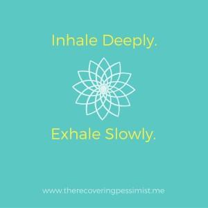 The Recovering Pessimist: Wisdom Wednesday #115 -- Calm. | www.therecoveringpessimist.me #amwriting #recoveringpessimist #optimisticpessimist