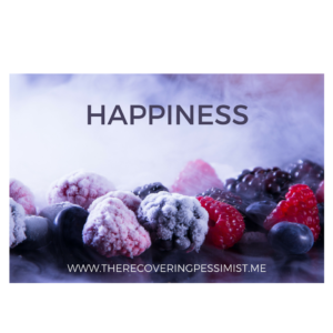 The Recovering Pessimist: Wisdom Wednesday #151 -- The simple things can bring so much happiness to one's life. | www.therecoveringpessimist.me #amwriting #recoveringpessimist #optimisticpessimist