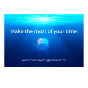 The Recovering Pessimist: Wisdom Wednesday #135 -- You have 24 hours. Make them count. | www.therecoveringpessimist.me #amwriting #recoveringpessimist #optimisticpessimist