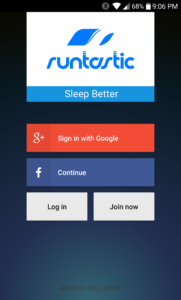 Sleep Better App Login